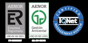 Logos Aenor Genser