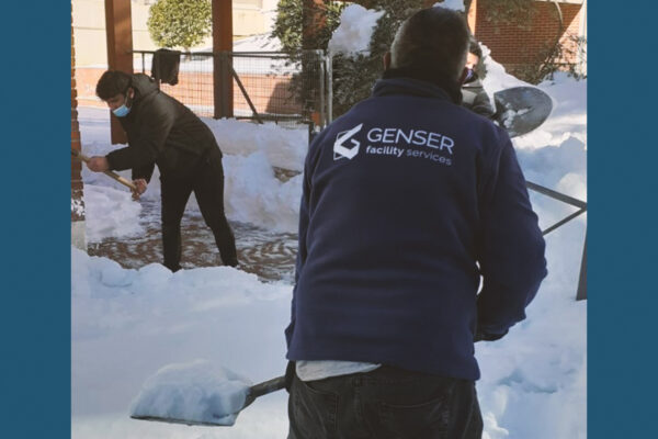 Los servicios de Genser con el temporal Filomena