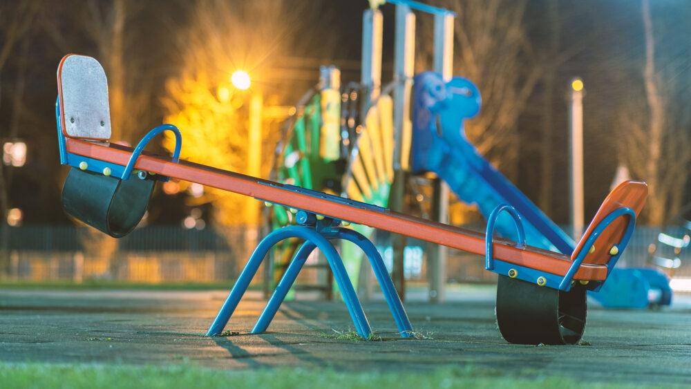 limpieza de parques infantiles