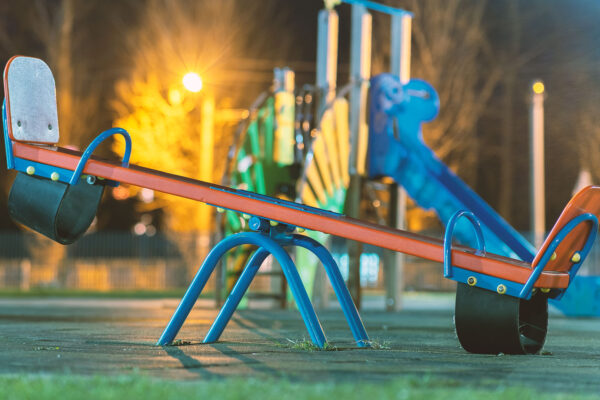 La intensificación de la limpieza en parques infantiles